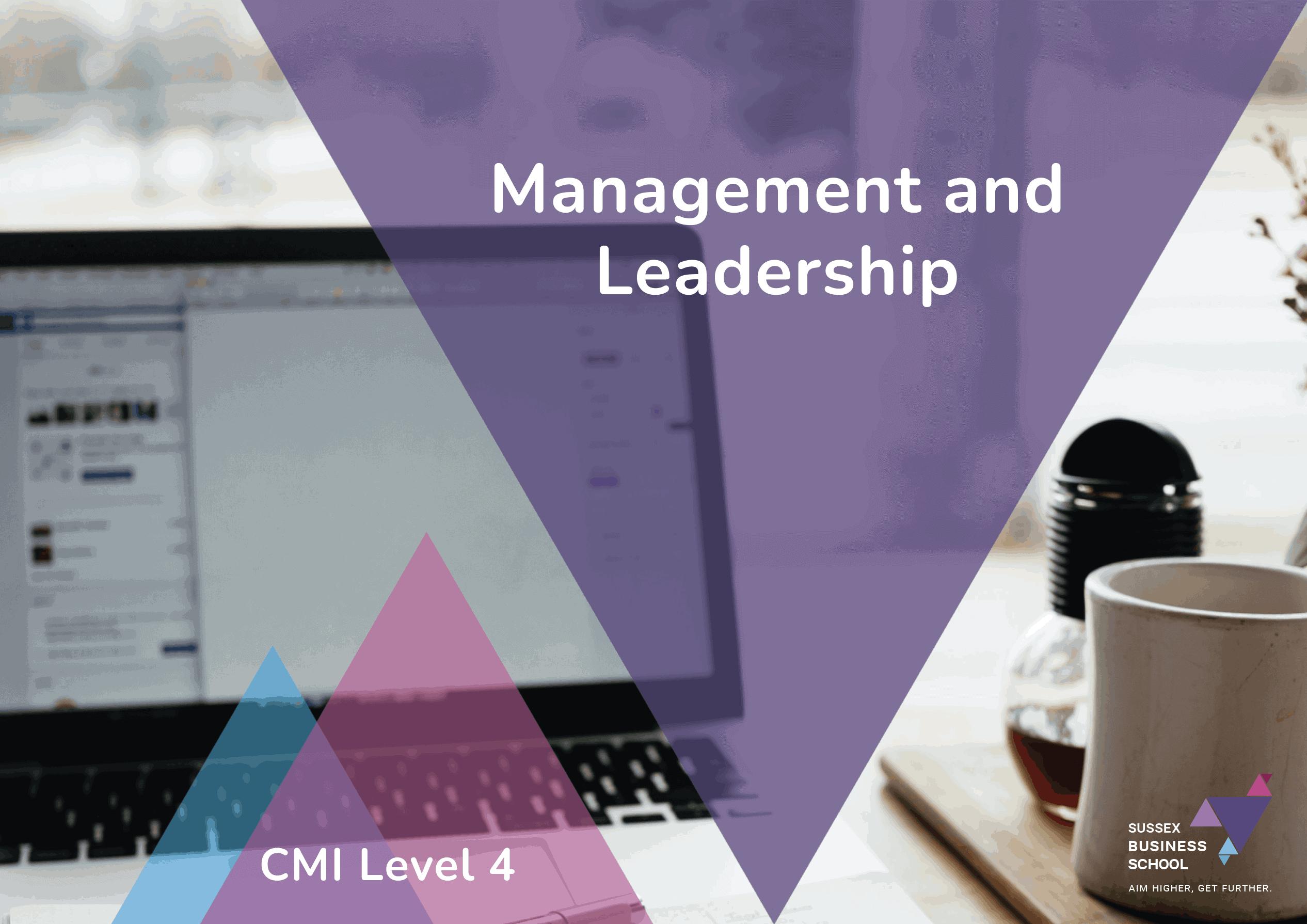 cmi level 4 management and leadership info pdf