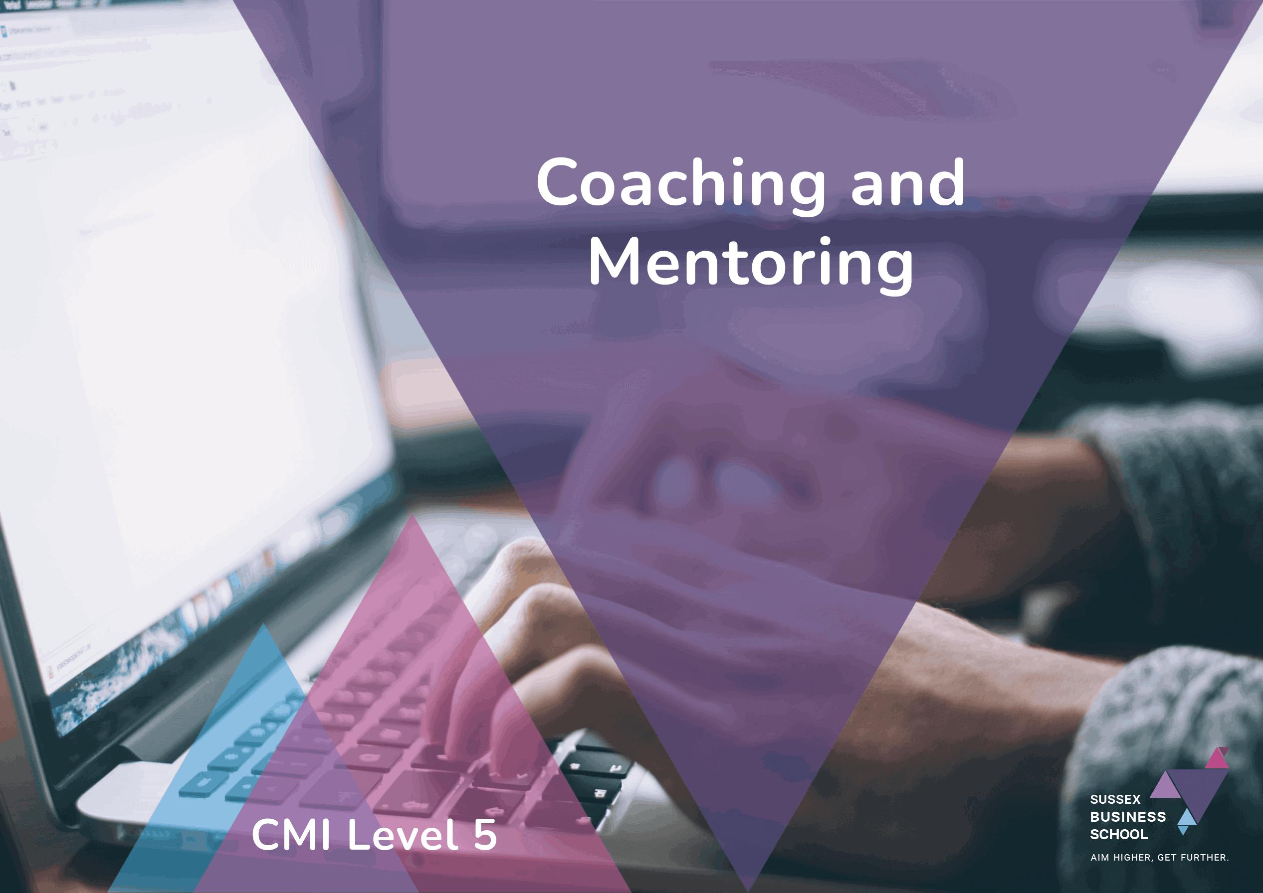 cmi level 5 coaching and mentoring info pdf