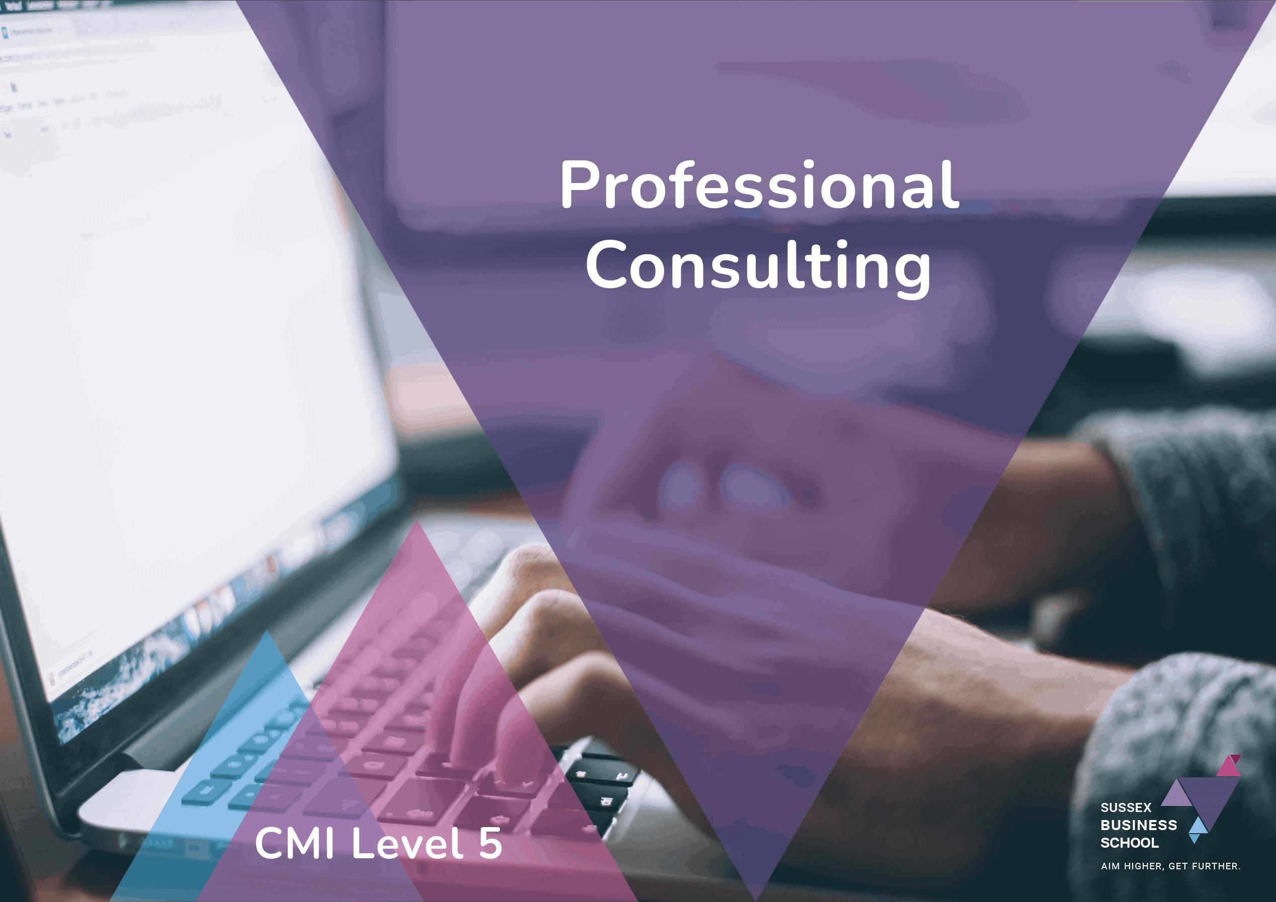 CMI Level 5 Professional Consulting PDF